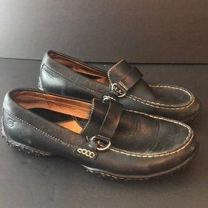 Born loafer shoes slip on black size 8 1/2 Men's